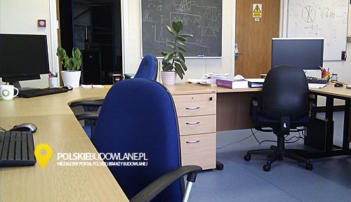 podłoga w biurze